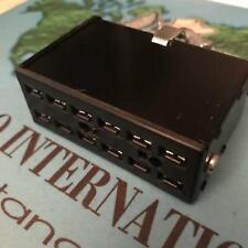 Cinch S5412-Cct Jones 12 Pin Socket 38541-8412 Connector Cable Clamp Top