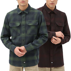 DICKIES Plesent Hill Shirt - Flannel check Streetwear Fashion NEW