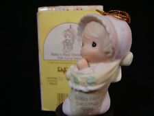 New ListingPrecious Moments Ornaments-Baby's 1'St Christmas-1996 Limited Edition+