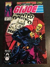 """Gi-joe#116 Awesome Condition 8.0(1991)""""Destro Wanted Cover"""""""