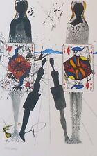 SALVADOR DALI ALICE IN WONDERLAND The Queen's Croquet Ground SIGNED HAND NUMBERD