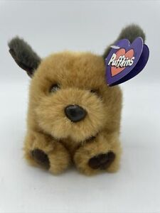 FETCH THE DOG PLUSH PUFFKINS New With Tag 1997