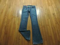 """Adriano Goldschmied The Angel Bootcut Jeans Size 26 X 32"""" Medium Wash EUC"""