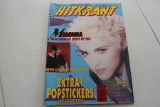 MADONNA - on cover HITKRANT #  7 '87 nick kamen deep purple