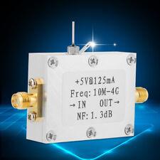 Wideband 0.01-4GHZ 21dB for HAM Radio RTL SDR LNA Low Noise RF Amplifier Module