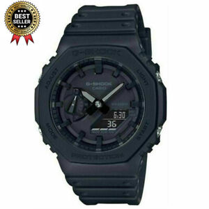 Casio G-Shock GA-2100-1A1ER-Black (CasiOak) Carbon Core Guard Watch Hot Deals Au
