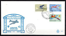 Suriname - 1971 Airmail service / Birds - Clean unaddressed FDC!