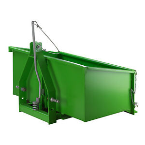 Stahl Heckcontainer 1000S Basic Heckmulde Kippmulde Kippcontainer Traktormulde