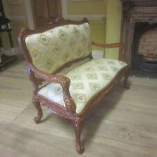1/12 scale Dolls House Louis XV Rococo Sofa & 2 x Chairs SET  J07014AC WN