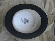 Extra Large Tress & Co Black London Silk Top Hat Sz 7¼
