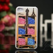 IPhone 4 4s Hard Case Housse/étui de protection Cover couverts strass tour Eiffel