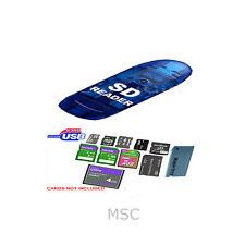 7 in 1 USB 2.0 Card Reader Class 2 4 6 SD SDHC SD-MINI