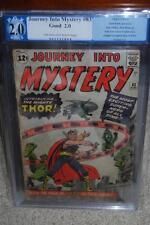 Journey Into Mystery #83 PGX 2.0 1st Thor! Avengers! Like CGC C8 594 1 cm