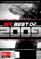 UFC - The Best of 2009 (DVD, 2009, 2-Disc Set) New and Sealed