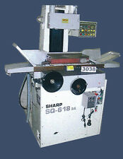 SHARP SURFACE GRINDER SQ-618 2A WITH AUTO DOWNFEED - INV #3038
