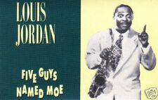 LOUIS JORDAN - Five Guys Named Moe (UK 20 Tk Cassette Album)