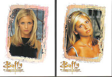 BUFFY THE VAMPIRE SLAYER, THE STORY SO FAR SET OF TWO CASE LOADER CARDS