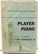 Player Piano by Kurt Vonnegut ~ 1st Edition w/ DJ - Author's First Book  1952