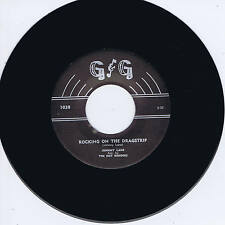 JOHNNY LANE & THE HOT RODDERS - ROCKING ON THE DRAGSTRIP (Killer 50s ROCKABILLY)