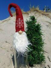 """SCHNITZEL GNOME 15"""" BOTTLE TOPPER CHRISTMAS ORNAMENT HOSTESS GIFT"""
