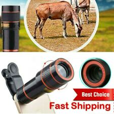 12X Telescope Optical Zoom Camera Telephoto Lens Magnifier for iPhone Android