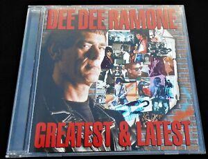 Dee Dee Ramone: Greatest & Latest Eagle Records EAGCD156 New Wave Rock 2000 CD