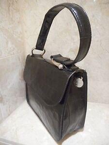 Mulberry Leather Black Handbag Roger Saul Congo Classic Evening Bag