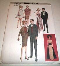 """Butterick Pattern 11 & 1/2"""" Fashion Doll Vintage 60'S Clothes 6668 Uncut 2001"""