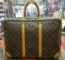 "LOUIS VUITTON ""Sirius 45""  Repair Service Replacement Of All Leather Trimmings"