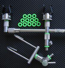 CARP Fishing Tackle O-RING X36 Fit Snag Bar Bite Alarm Rod Pod 6&12mmØ bgbs 36#