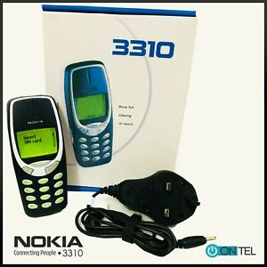 🔥🔥 Nokia 3310 MOBILE PHONE BOXED WARRANTY FIRST CLASS UK STOCK 🔥🔥