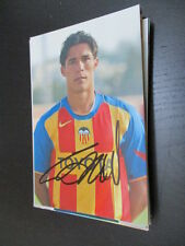 55526 bernardo corradi fc valencia original autografiada autografiada foto