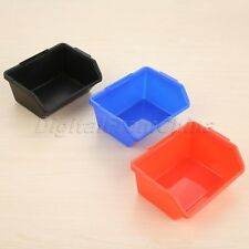 Strong Plastic Stacking Storage Boxes Bins Picking Bin Workshop Box Sorts Items