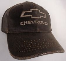 Hat Cap Chevrolet Chevy Bowtie Dark Brown Realtree Edge Visor OC