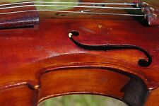 Antique 4/4 violin, Forest Nevells, Stonington, Maine,1929, for conservation