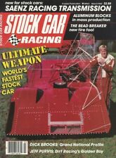 STOCK CAR RACING 1985 MAR - Brooks, Purvis, Balough, Randy Sweet, Gran Marque