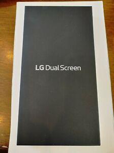 NEW FACTORY SEALED Genuine LG Dual Screen Case for LG V60 ThinQ 5G LM-V605N