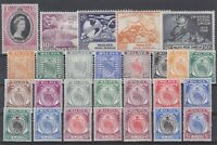 P130918/ NEGRI SEMBILAN / COLLECTION 1935 - 1953 MINT MH CV 184 $