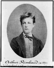 Arthur Rimbaud,French poet,creative writing,author,decadent movement,art,1870
