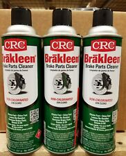 3 Pack CRC 5088 Brakleen Brake Parts Cleaner 14oz NonChlorinated FREE SHIPPING!!