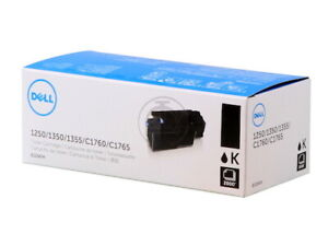 Genuine Dell 810WH (DC9NW) Black High-Yield Toner - NEW SEALED
