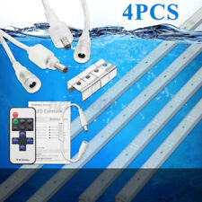 4X 12V Waterproof Cool White 5630 LED Strip Lights Bars Camping Car Caravan Boat