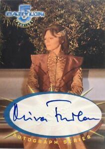 Mira Furlan as Delenn Autograph SA4, Babylon 5 Profiles