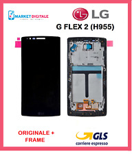 DISPLAY ORIGINALE  LCD +TOUCH SCREEN +FRAME LG G FLEX 2 (H955) NERO