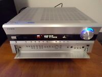 Onkyo Receiver TX SR806 7.1 Silver 130 watt S-Video Hdmi 1.4 DTS THX Ultra Dolby