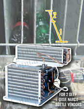 Brand New Dixie Narco Refrigeration System for 2 Deep Bottle Vendors