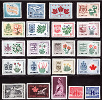 1964 Year Set / Canada MNH  Postage Stamps with province flowers - Superfleas