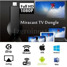 HDMI 1080P Miracast DLNA TV Dongle Stick Airplay Receptor Pantalla WiFi PC Móvil
