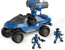 Mega Bloks Halo Blue Series Rockethog - 193 Pieces - 8 + Years ** GREAT GIFT **