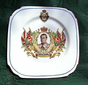 EDWARD VIII Coronation plate for 12th May 1937 ( which never happened ! )